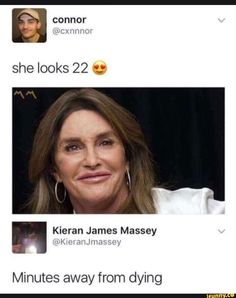 Yeah she look 22 if 22 year olds where all addicted to meth.