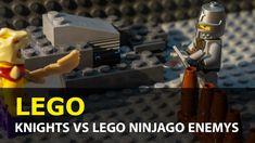 Lego Stop Motion, the Lego Ninjago enemys attack the Lego knights. Lego City Stop Motion Animation, Brickfilm Thanks for watching! Lego Knights, Lego Ninjago, Lego City, Stop Motion, Animation, Film, Movie, Film Stock, Cinema