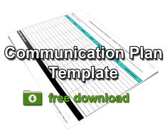 11 essential elements of a communication plan