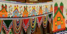 Saurashtra bead work toran