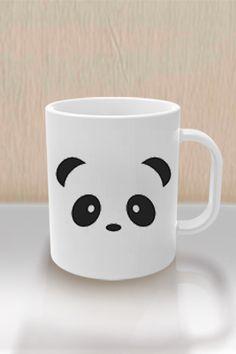 Regala esta bella taza a alguien especial con la cara de un oso panda en ambos lados, un animal de gran belleza que transmite mucha paz y tranquilidad a más de una persona