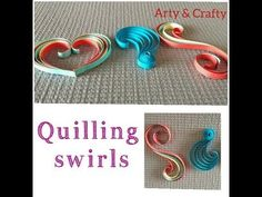 Quilling Swirls Tutorial# paper quilling# 3 swirls# basic This video is about basic paper quilling swirls tutorial that will help new learners to learn basic quilling techniques. In this video I have shown you 3 types of swirls (full video). Quilling Instructions, Paper Quilling Tutorial, Paper Quilling Patterns, Paper Quilling Jewelry, Neli Quilling, Quilling Paper Craft, Paper Beads, Paper Crafts, Quilled Roses