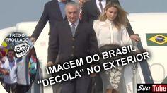 """MELHORANDO!! Imagem do BRASIL """"Decola"""" no Exterior. Abatido e cabisbaixo..."""