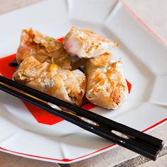 Crispy Vegan Cabbage Wonton Dumplings from Calm Mind Busy Body.