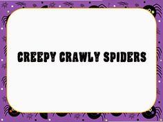 O For Tuna Orff: Creepy Crawly Spider