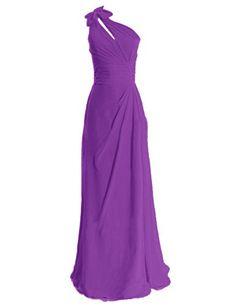 Diyouth One Shoulder Bows Long Bridesmaid Dress Purple Size 2 Diyouth http://www.amazon.com/dp/B00LQN2BZW/ref=cm_sw_r_pi_dp_2RWeub141AAQQ