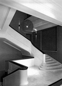 Architecture Details, Modern Architecture, 5 W, Warsaw, Bauhaus, Interior Inspiration, Art Deco, Stairs, Interiors