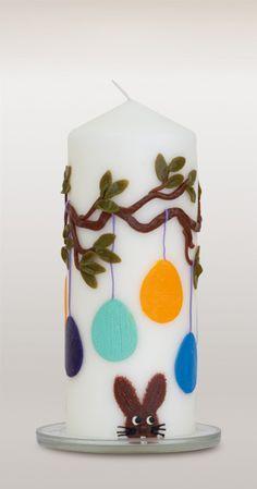Kerze zu Ostern - Osterkerze