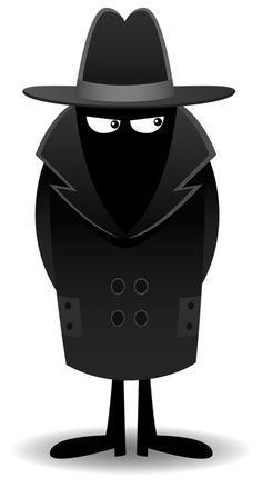 the dark spot pinterest silhouettes spy and clip art rh pinterest com secret agent badge clipart secret agent clipart black and white