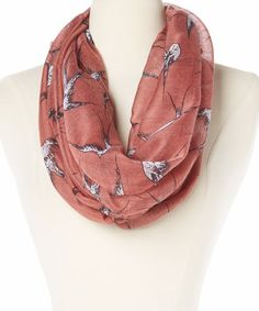 Love this Barn Swallow Infinity Scarf on #zulily! #zulilyfinds