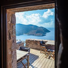 Enjoy a photo tour of Tainaron Blue Retreat Reisen In Europa, Short Trip, Cozy House, Outdoor Gardens, Airplane View, Places To See, The Good Place, Travel Inspiration, Garden Design