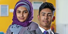 Acorn's 'Ackley Bridge': School-based British drama tackles integration of Muslim and white students in a small town Related Ackley Bridge, New Academy, Collage Book, Movies And Tv Shows, Movie Tv, Drama, Acorn, Tvs, Tik Tok