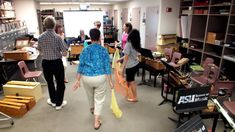 Canon in Movement--ASU Orff level III class taught by Robert Amchin 2012