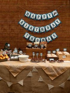 Vintage Train Party Birthday Party Ideas | Photo 16 of 42