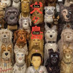 Isle of Dogs - by Wes Anderson. With Bryan Cranston, Koyu Rankin, Edward Norton, Bob Balaban, Scarlett Johansson. Stop motion animated film. 2018 Movies, New Movies, Movies To Watch, Good Movies, Movies Online, Movies Free, Greatest Movies, Popular Movies, Bryan Cranston