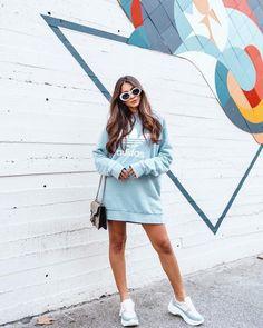 Sweatshirt - Sweatshirt, Women's Fashion, Clothing - Sweatshirt – Own Style by Sir Sweatshirt, women's fashion, clothing - Girl Fashion, Fashion Outfits, Womens Fashion, Cool Outfits, Casual Outfits, Converse Outfits, Pretty Outfits, Stylish Hoodies, Mode Kpop