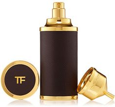 TOM FORD Private Blend Atomizer, 1.7 oz. - TOM FORD Private Blend Atomizer, 1.7 oz. DetailsWrapped in supple leather with gold metal accents, the private blend atomizer carries your TOM FORD private blend fragrance in unsurpassed luxury. In a 50 mL size, the private blend atomizer comes with an easy-to-use funnel, designed to fill for the perfect pour