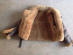 sheepskin flying jacket | eBay