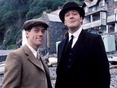 Jeeves and Wooster - British comedy series starring Hugh Laurie and Stephen Frye, based on the books by P.G. Wodehouse