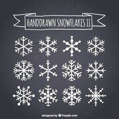 More than a million free vectors, PSD, photos and free icons. Exclusive freebies… More than a million free vectors, PSD, photos and free icons. Exclusive freebies and all graphic resources that you need for your projects Christmas Rock, Winter Christmas, Christmas Time, Chalkboard Designs, Chalkboard Art, Snowflake Craft, Snowflake Designs, Window Art, Window Picture