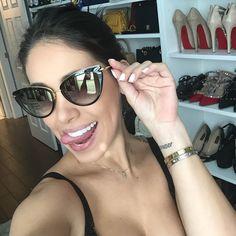 Meninas lindas a minha querida amiga @sabrinayacoub pediu pra avisar que esse óculos divo da Dita já foi re-estocado (nem sei se existe essa palavra mas se não existir eu inventei hahaha). Encomende o seu com a @sabrinayacoub antes que esgote de novo  ah ela só trabalha com produtos originais!!! ______________________________  Passing out a message from my friend @sabrinayacoub who owns a sunglass online store about this gorg Dita shades - it's been restocked but quantities are still…