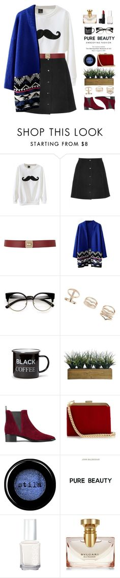 """~Beautiful Halo 21~"" by amethyst0818 ❤ liked on Polyvore featuring Maison Boinet, Topshop, Old Navy, Laura Ashley, Acne Studios, Balmain, Stila, Essie, Bulgari and NARS Cosmetics"