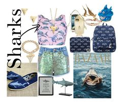 """Shark Week Fun!"" by bee4735 on Polyvore"