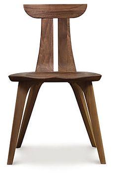 estelle dining chair walnut copeland furniture
