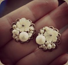 Vintage inspired earrings
