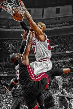 307216001d25 Chicago Bulls Taj Gibsons  Dunk on Miami Heat s Dwyane Wade in Game 1 of  the 2011 NBA Eastern Conference Finals Taj Gibson Dunk on DWade