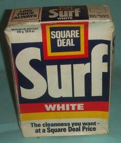 Image result for surf washing detergent 1970