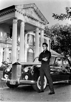 Elvis Presley's car collection included a black Standard Salon Silver Cloud II Rolls Royce, which in 1960, was valued at eighteen thousand dollars.