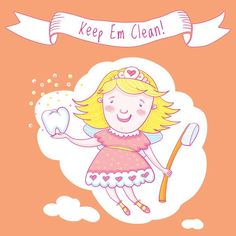 Everyone knows the tooth fairy takes good care of her clients. But did you know that she only pays for clean teeth? Dental Hygiene, Dental Health, Dental Care, Pearland Tx, Rancho Santa Margarita, Perfect Teeth, Teeth Cleaning, Tooth Fairy, Everyone Knows