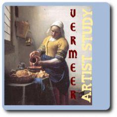 Great Artist Study of Johannes Vermeer for kids!
