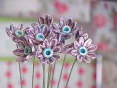 Ceramic flowers T