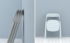 design, product, trend, inspiration and plllus! Folding Furniture, Smart Furniture, Steel Furniture, Living Furniture, Folding Chairs, Home Depot, Chair Design, Furniture Design, Foldable Chairs