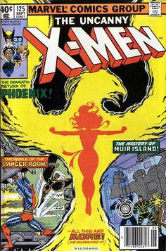 X-Men #125, September 1979, cover by Dave Cockrum and Terry Austin