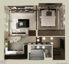 Classy Small Apartment Plans On Pinterest Young Couple Apartment Micro Thoughts