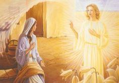 H.G. Leiendecker - Verkündigung - Maria und der Erzengel Gabriel