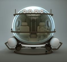Manatee - Submersible Vehicle Concept (OK, technically not wheels, but still pretty hot!)