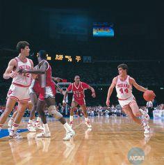 Joe Hillman and Steve Alford - Indiana  -   #IUCollegeBasketball