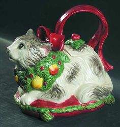 FITZ/FLOYD HOLIDAY CATS - Replacements Ltd.