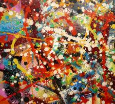 Jackson Pollock: I love the emotion in his paintings. Want to see some in person Drip Art, Drip Painting, Oil Painting On Canvas, Abstract Expressionism, Abstract Art, Jackson Pollock Art, A Level Art, Artist Art, Modern Art
