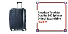 American Tourister Duralite 360 Spinner 24 Inch Expandable Review