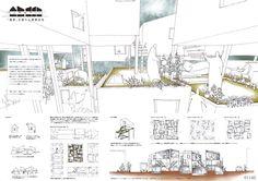 No.1142 松田仁樹 増田伸也(東京大学大学院) Japan Design, Model Sketch, Urban Landscape, Presentation Boards, Arch, Japanese Design, Bow, City Landscape