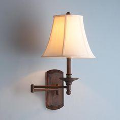 Beyond Classic Swing Arm Wall Lamp
