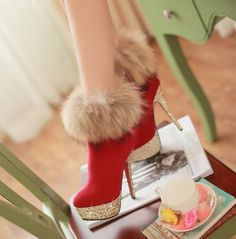 Fashion Fox sexy -High Heels Boots High Heel High Heels Boots (black,blue,red) - stylishplus.com