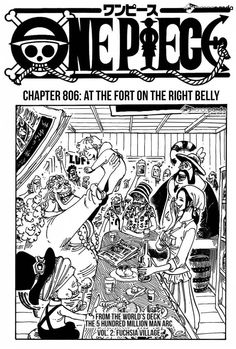 shintigercurl reacts to one piece, chapter 806:  ON THE FORT AT THE RIGH...