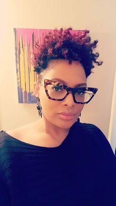 Glasses Frame With Clear Lens For Women anti glare glasses 2 glasses wooden eyeglass frames designer glasses Anti Glare Glasses, Curly Hair Styles, Natural Hair Styles, Funky Glasses, Womens Glasses Frames, Fashion Eye Glasses, Sassy Hair, Trends, Hair Inspiration