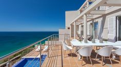 Vila Mar a Vista is a beautiful villa for rent in Budens, Portugal. View info, photos, rates here. Algarve, Villa, Fine Sand, Beach House, Portugal, National Parks, Vacation, Luxury, Outdoor Decor